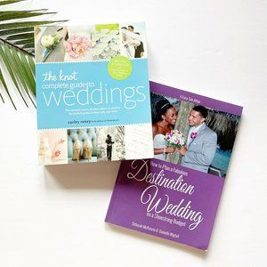 The Knot Complete Guide to Weddings Book Bundle